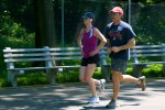 para podczas joggingu